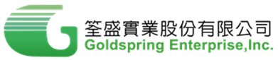 筌盛實業股份有限公司 Logo